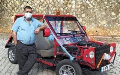 Motor Dersinde Otomobil Ürettiler