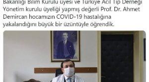 Bilim Kurulu Üyesi Covid-19'a Yakalandı