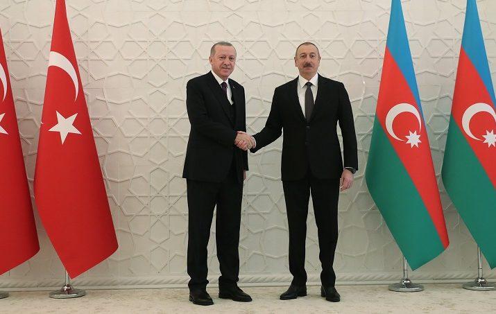 Erdoğan Türkiye Azerbaycan'ın Yanındadır