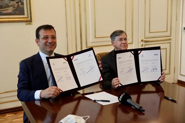 İBB ve USTDA İmzaları Attı