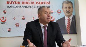 Yardımcıoğlu: Siyasi Partilere Verilen Destek Esnafa Verilsin