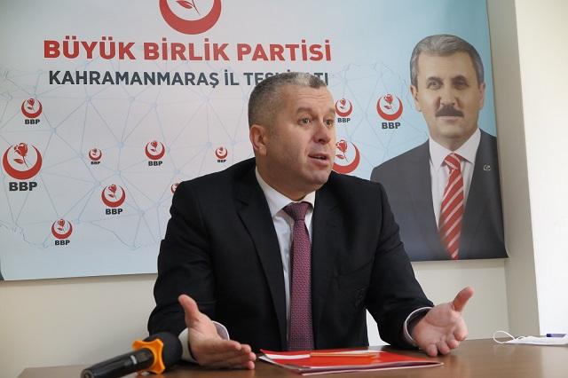 Yardımcıoğlu Siyasi Partilere Verilen Destek Esnafa Verilsin